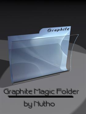 Graphite Magic Folder by nutho