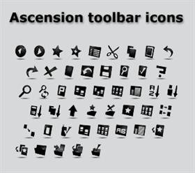 Ascension Toolbar Icons
