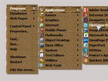 Brown Paper RightClick Menu