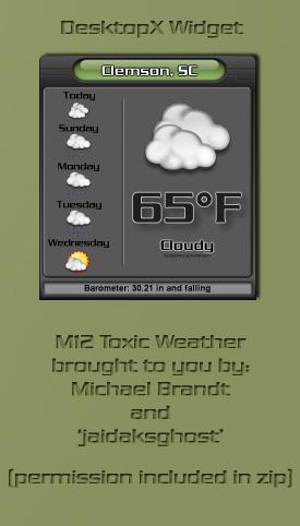 M12 Toxic Weather