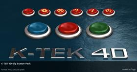 K-TEK 4D Big Button Pack