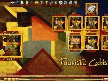 Fauvistic Cubism