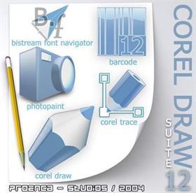 CorelDrawSuite12 icons