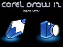 Corel Draw 12 Icons Aqua 2