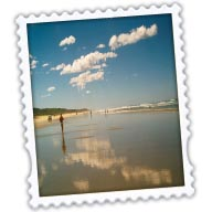 Beach Stamp/Mail Icon