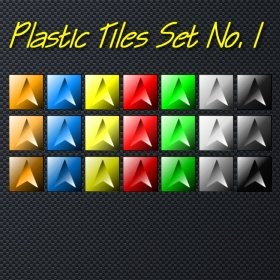Plastic Tiles Set 1