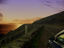 A sunest drive