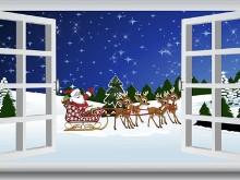 Christmas Santas Coming LV