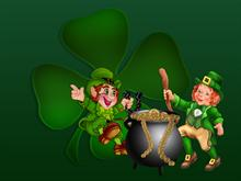 Saint Patricks Leprechauns