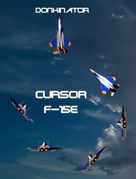 Cursor F-15E