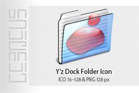 Y'z Dock Folder Icon