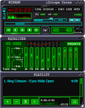 iZotope Ozone for Winamp
