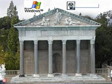 Greek facade