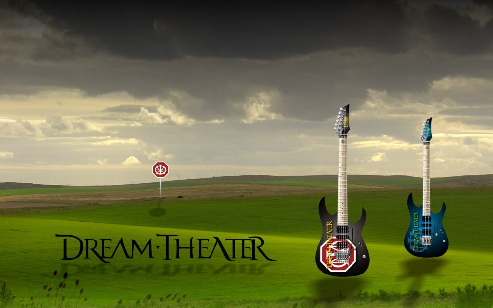 dream theater wallpaper. Dream Theater Guitars