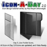 Icon-A-Day 2.0, Day 5, Live Folder Icons
