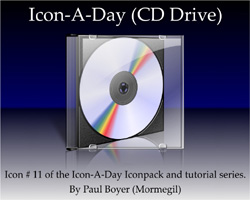 Icon-A-Day #11 (CD Drive)