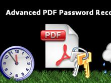 Advanced PDF Password Recovery