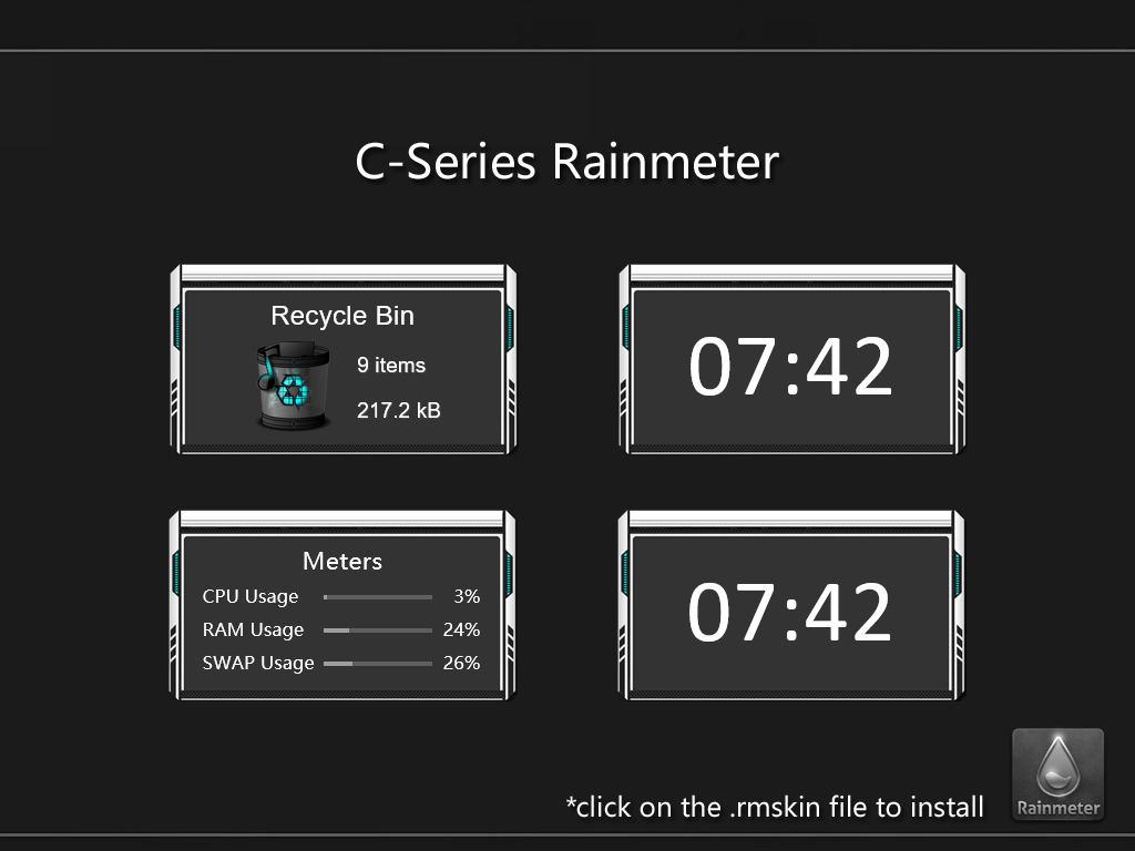 C-Series Rainmeter