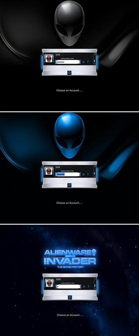 ALIENWARE INVADER   (Authorized Release)