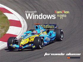 Windows Fernando Alonso F1 P1