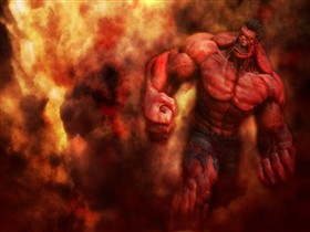 Red Hulk_wallpak