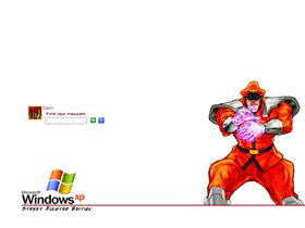 Street Fighter Logon - M. Bison