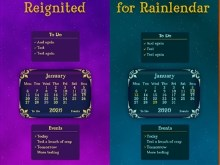 Reignited for Rainlendar