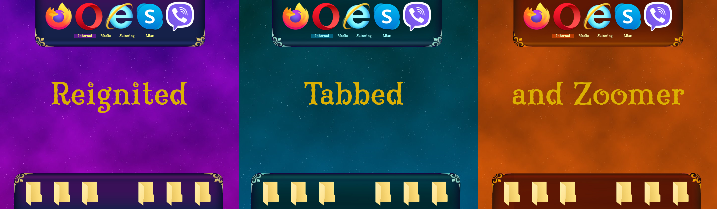 Reignited Tabbed and Zoomer