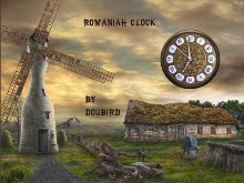 Romaniah clock