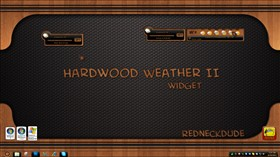 Hardwood Weather Widget II