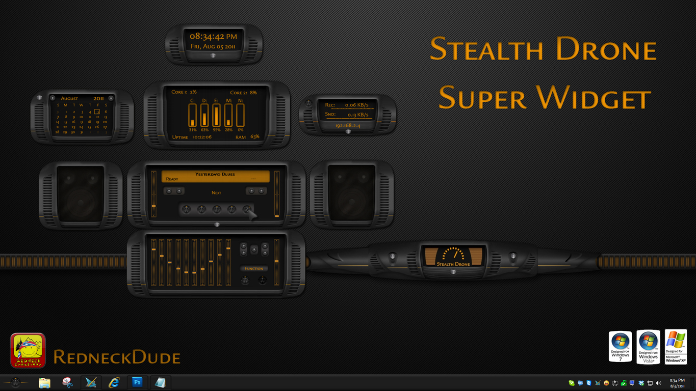 Stealth Drone Super Widget