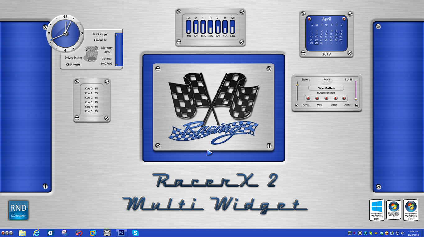 RacerX2 Multi Widget