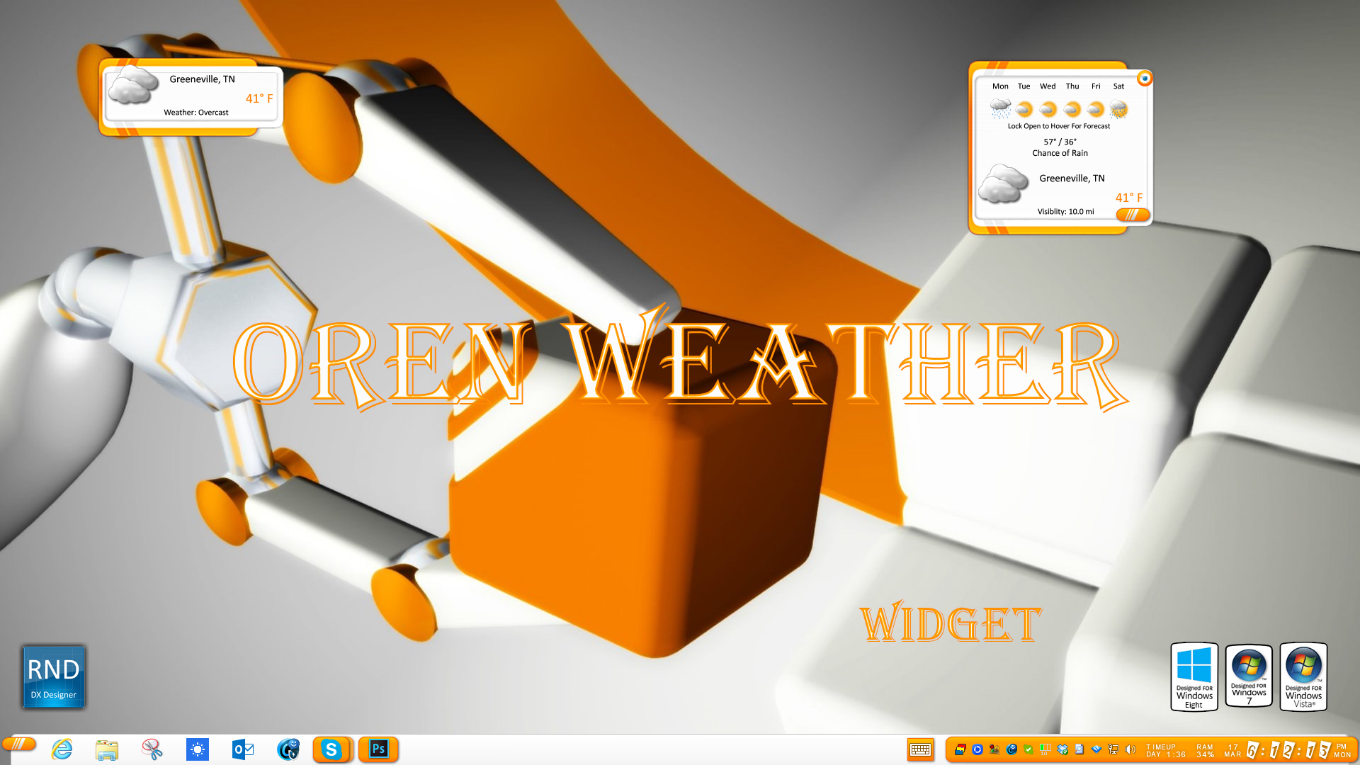 Oren Weather Widget