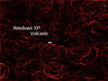 Windows XP Volcanic