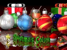 Chrismas Colors Wallpaper