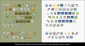 w0rse Toolbar Icons