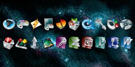 Cosmos Application Icons