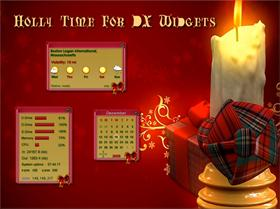 Holly Time Widgets