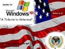 WinXp Bootscreen: A Tribute to Veterans