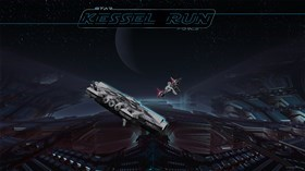 Kessel Run Promo-wall